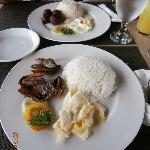 danggit and longganisa breakfast meals