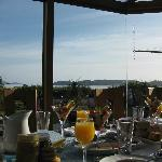 View from the breakfast table