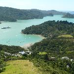 Whangaroa Harbour as seen from St Pauls Rock