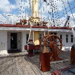 Fregatten Jylland.