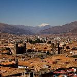 View over Cusco from window