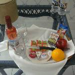 Welcome Tray in room