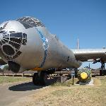 B-36 with atomic bomb