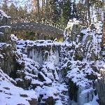 Teufelsbrücke im Winter