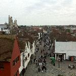 view from Westgate Towers