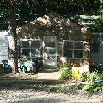 Different cottages around the property