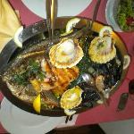 Fischplatte für zwei Personen