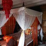 "My ""princess bed"" in Calabash"