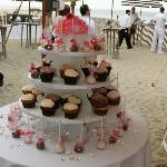 Beach Party - Cupcake Tower