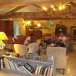 The beautiful lounge