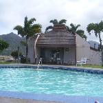 The Pristine Pool Area