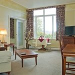 Salon de la suite Murray Bay