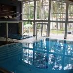 Spa mit Pool und Jacuzzi