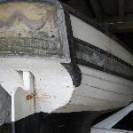 Smuggler's boat in the basement