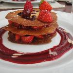 Tuiles aux fruits rouges