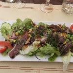 Super salade de gésiers d'oie : à recommander