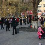 locals dancing