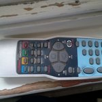 Disgusting remote control for TV