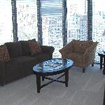 Fully furnished apartment with our own furniture and furnishings.