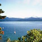 View from Homestay over the Marlborough Sounds