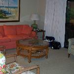 Living area (couch was pull-out bed)
