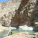 Pah Temp Hot Springs and the Virgin River