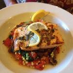 salmon and couscous