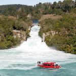Huka Falls, 10 minutes from Tauhara Sunrise