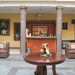 Hotel Lobby & Front Desk