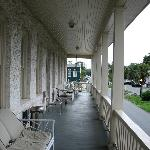The 2nd floor public balcony