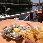 oysters and fish & fries
