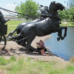 Oklahoma City Land Run Monument