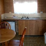 Good little kitchen area, great for families