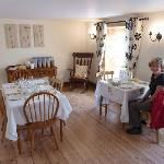 Wendy in the delightful dining room for a genuine Irish breakast