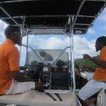 Land & Sea tour crew