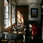 Dining area & Fireplace