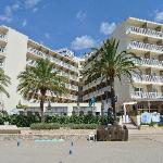 Vista albergo Veratour Ibiza