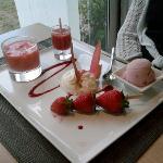 Dessert of set menu