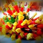 spiedo di frutta