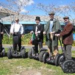 Segways in Victorian days