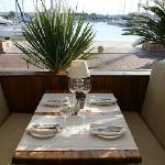 Al Fresco dining at Marina de Denia