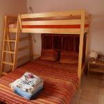 bedroom BLUE chalet