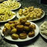 Les desserts de la soirée tunisienne (une fois par semaine)