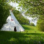 The secluded tipi field
