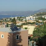 View from Sunrise Apartments looking over towards Malia