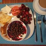 Frühstück! Nur meinen kleine Auswahl vom super Buffet.