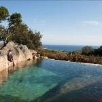 La piscine et la vue