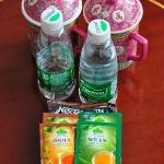 Complimentary water bottles (supplied daily), tea and coffee