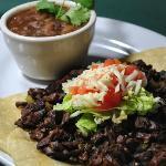 Fajita Tacos With Charro Beans