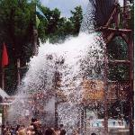 Splash at our Pirate's Peak Water Park